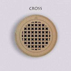 Ventilation grille - CROSS...