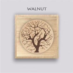 Anemostat - WALNUT - square